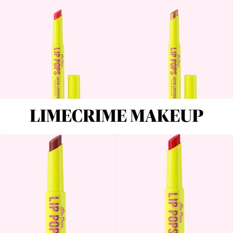 Limecrime Lip Pops Satin Lipstick