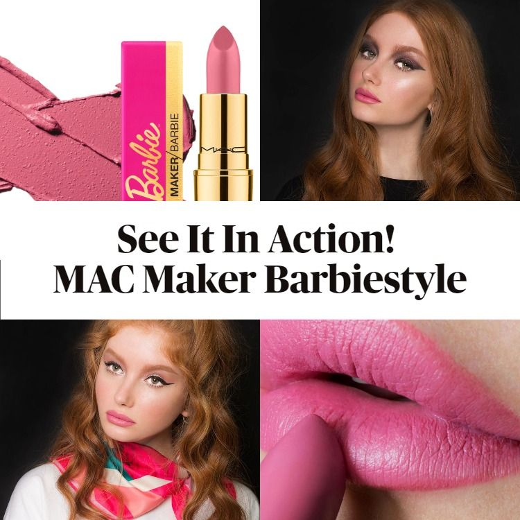 See It In Action! MAC Maker Barbiestyle Lipstick