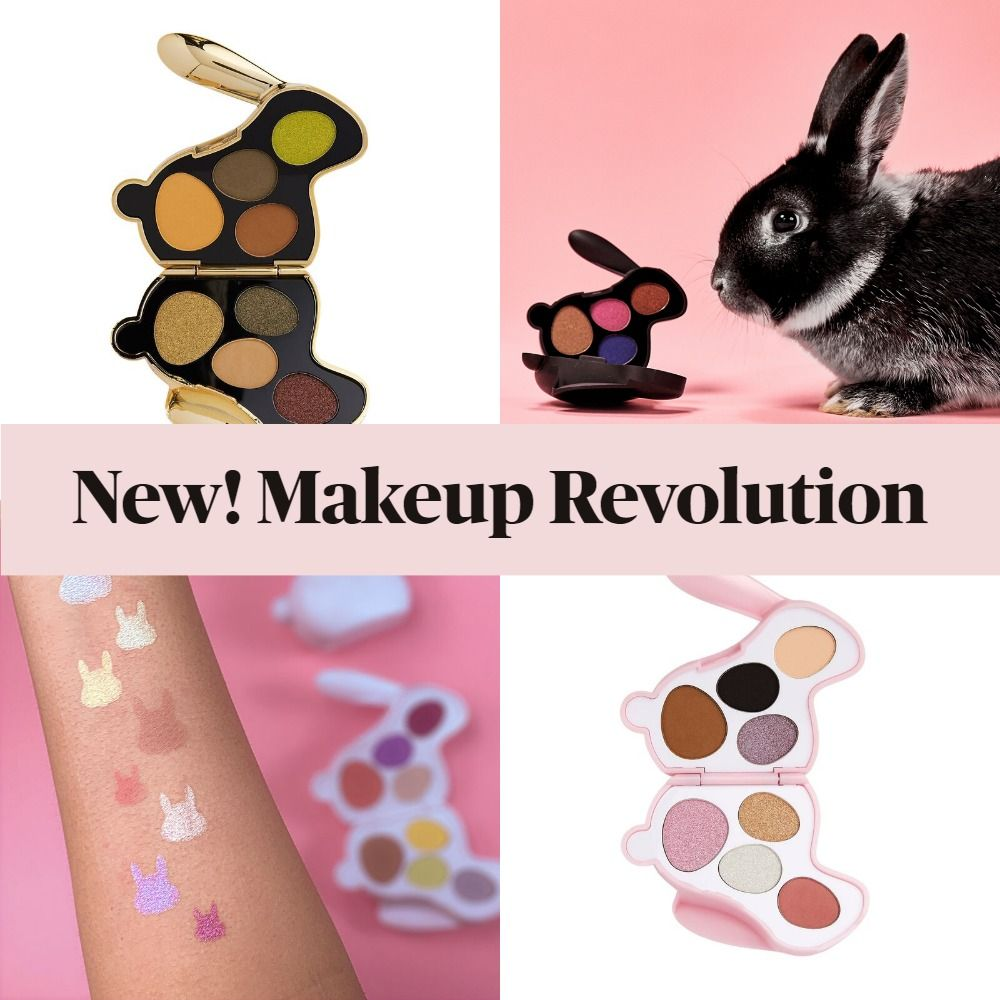 New! Makeup Revolution Bunny Shadow Palettes
