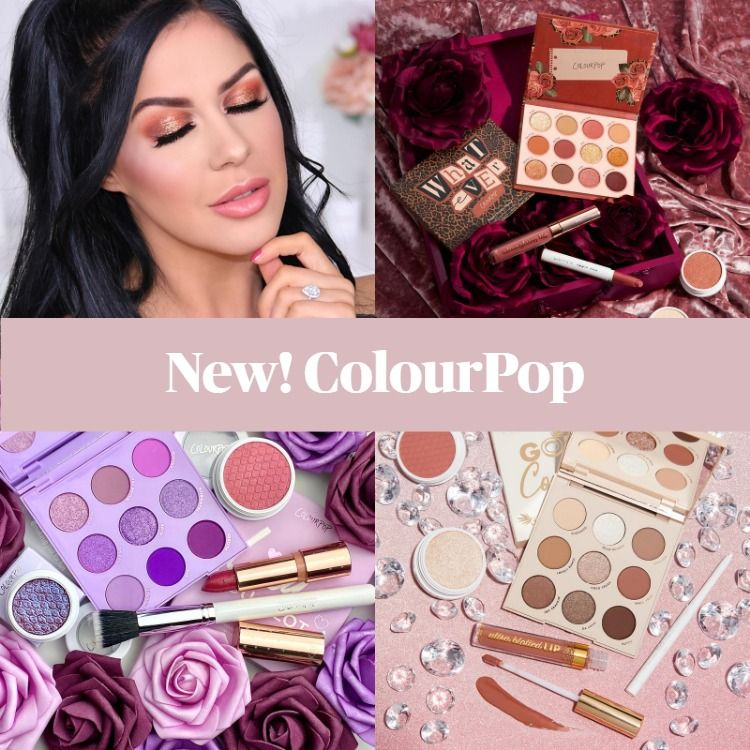 New! March Colourpop Crushes - Limited Edition Makeup Sets