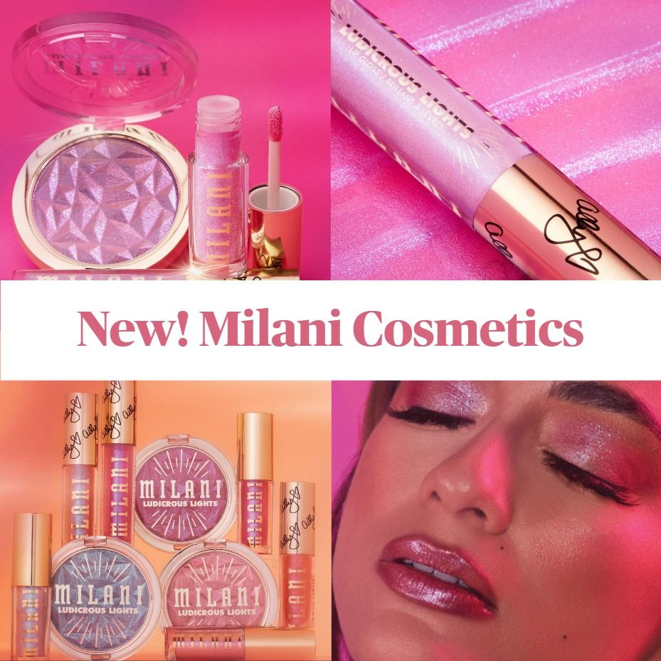 New! Milani Cosmetics Ludicrous Lights Collection featuring Ally Brooke