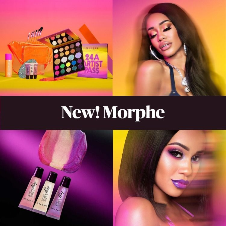 Coming Soon! Morphe Backstage With Saweetie Collection