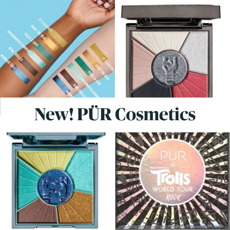 New! PÜR X Trolls World Tour Makeup Collection