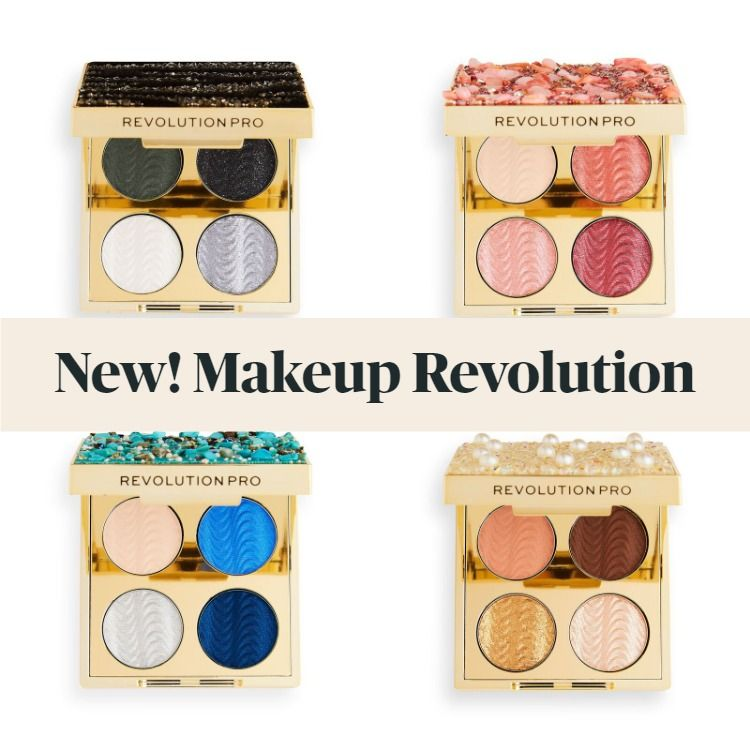 Get The Scoop On The New Makeup Revolution Pro Ultimate Eye Look Palettes