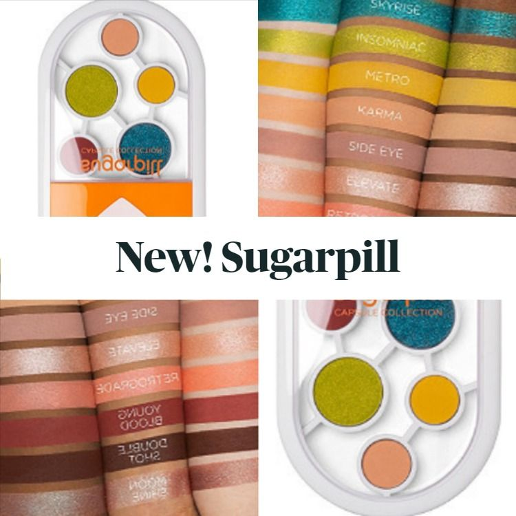 New! Sugarpill C2 Capsule Collection Eyeshadow & Pressed Pigment Palette