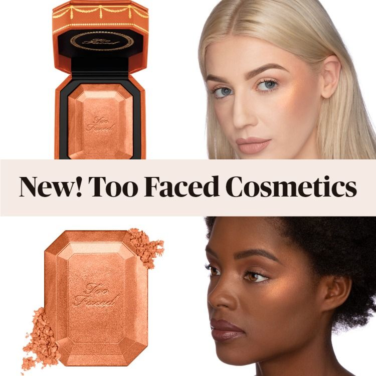 Get The Scoop On The New Too Faced Diamond Light Diamond Fire Bronzer