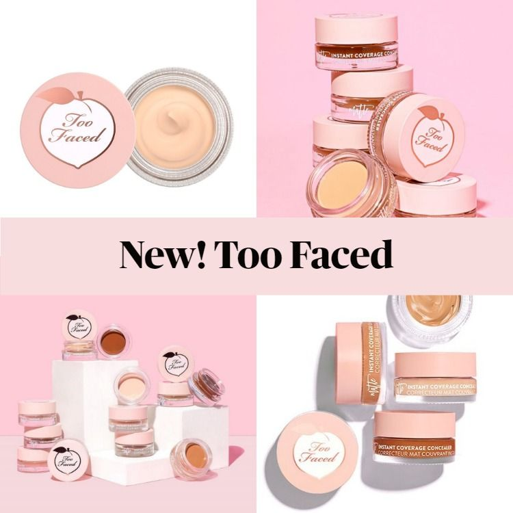 New! Too Faced Peach Perfect Concealer