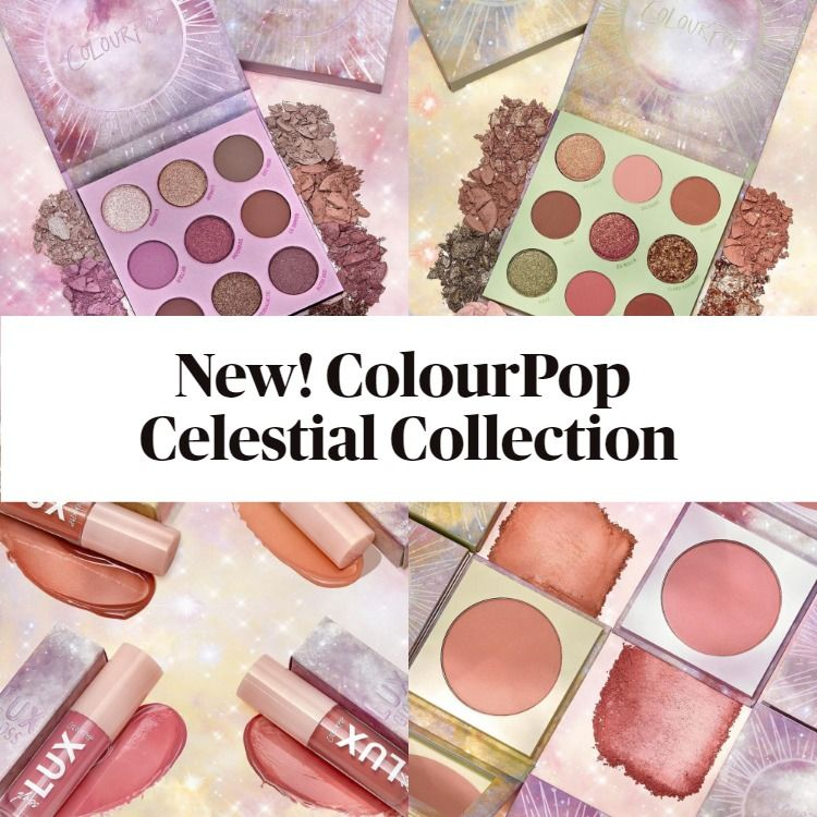 She's Got Solstice and All Things Equinox - Get The Scoop On The New ColourPop Celestial Collection