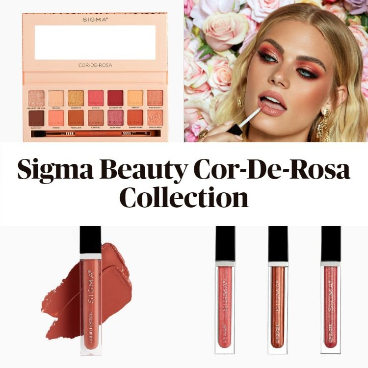 Get To Know The New Sigma Beauty Cor-De-Rosa Collection