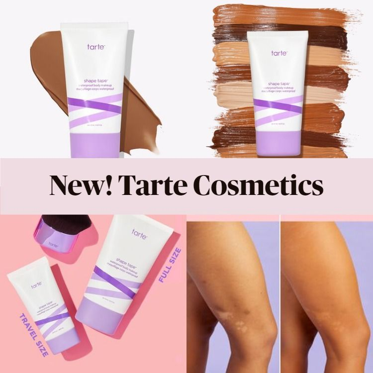 New! Tarte Shape Tape™ Waterproof Body Makeup