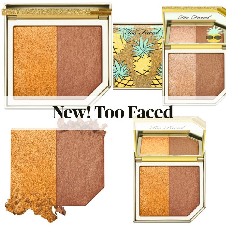 Get To Know The New Too Faced Strobing Bronzer Highlighting Duo