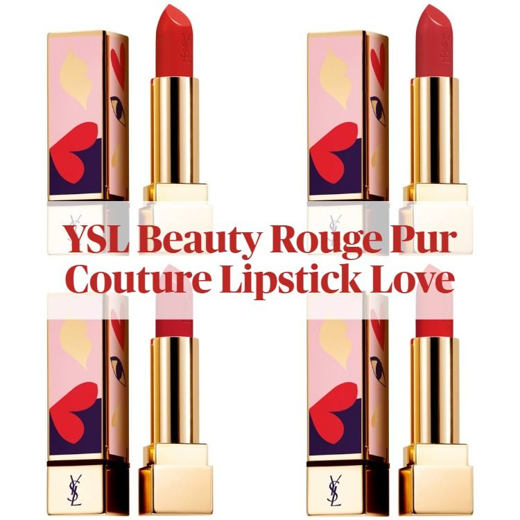 New! Yves Saint Laurent Rouge Pur Couture Lipstick Love Collector's Edition