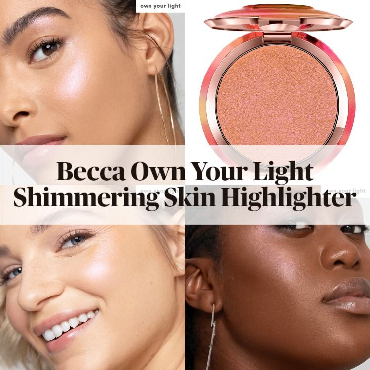 New! Becca Own Your Light Shimmering Skin Perfector Pressed Highlighter