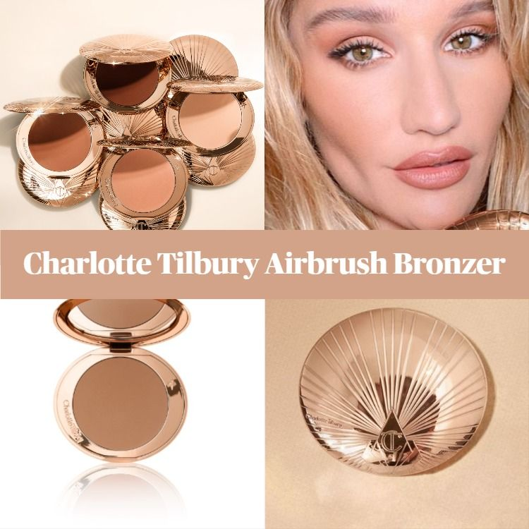 Sneak Peek! Charlotte Tilbury Airbrush Bronzer - BeautyVelle   Makeup News
