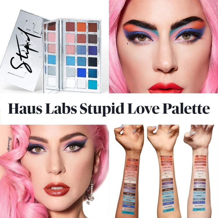 Get The Scoop On The New Lady Gaga Haus Labs Stupid Love Eyeshadow Palette