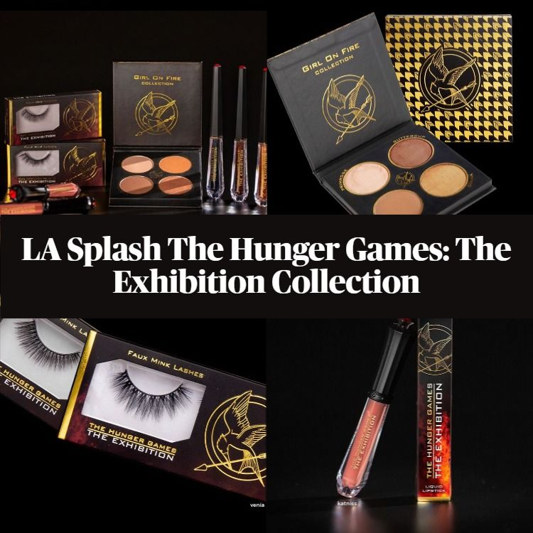 New! LA Splash The Hunger Games: The Exhibition Collection