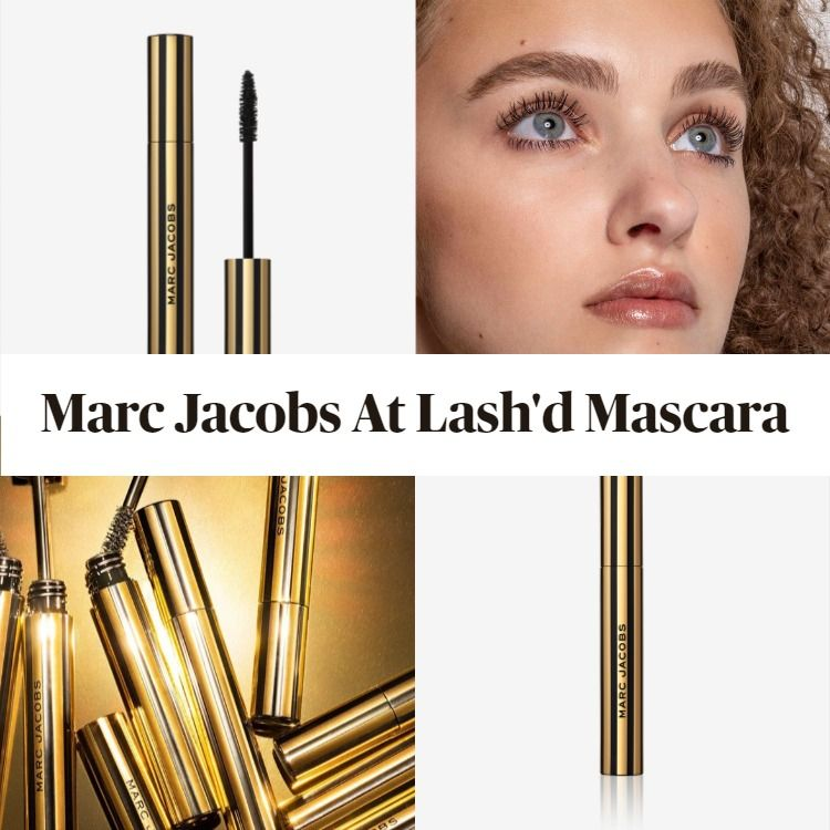 Get The Scoop On The New Marc Jacobs At Lash'd Lengthening and Curling Mascara