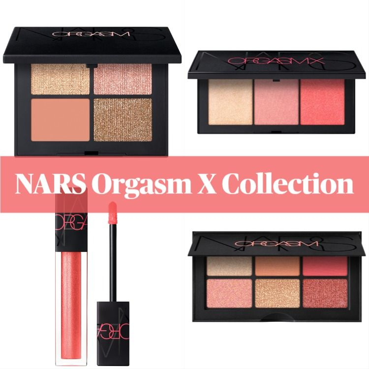 Get The Scoop On The New NARS Orgasm X Collection