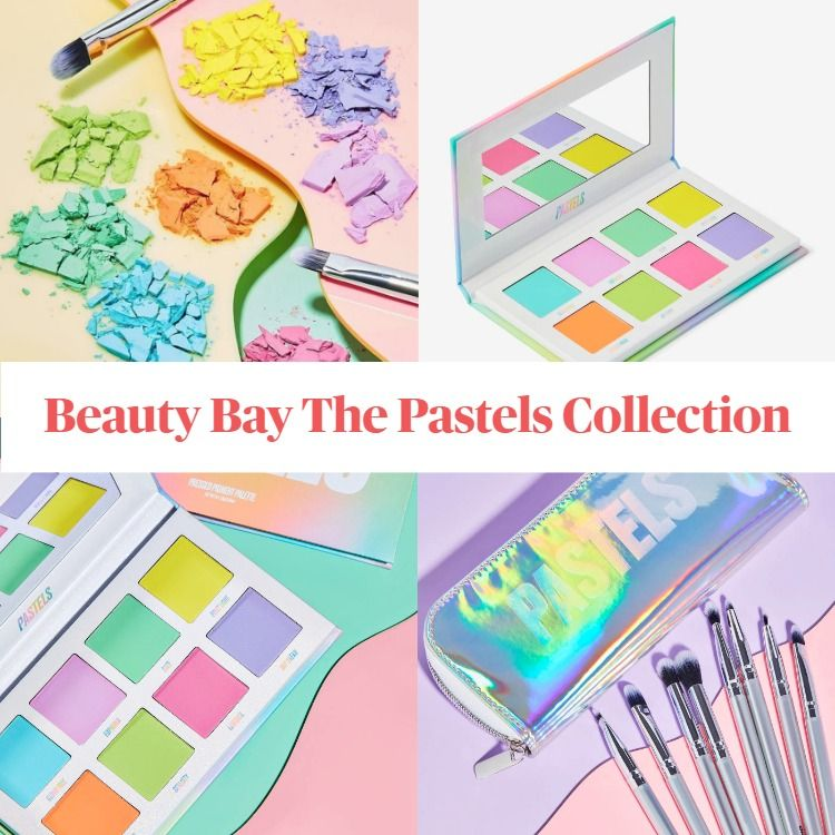 New! Beauty Bay The Pastels Collection