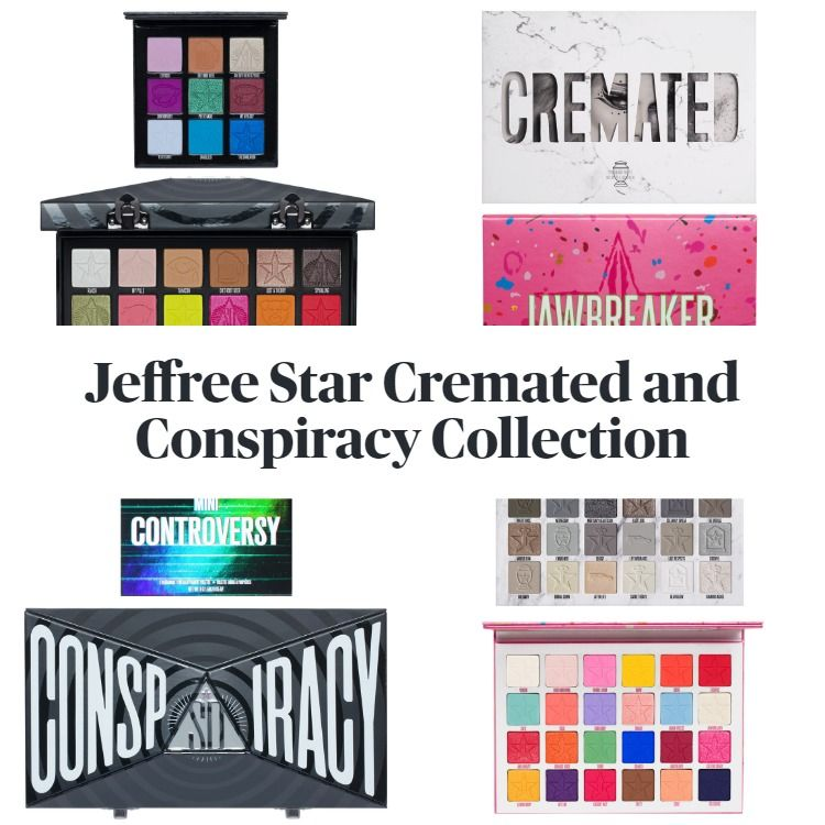 Get The Scoop On The New Releases In The Jeffree Star Cosmetics Cremated and Conspiracy Collection