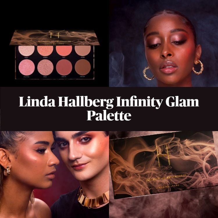 New! Linda Hallberg Infinity Glam Palette