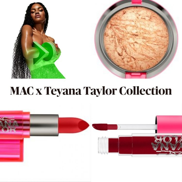 Sneak Peek! Mac x Teyana Taylor Collection