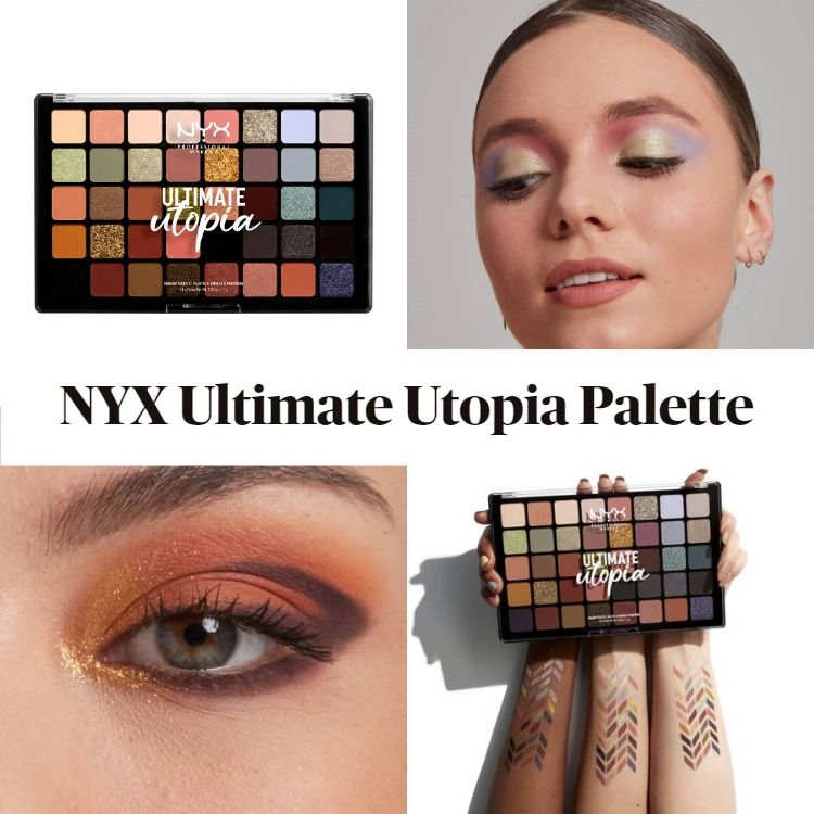 New! NYX Ultimate Utopia Shadow Palette