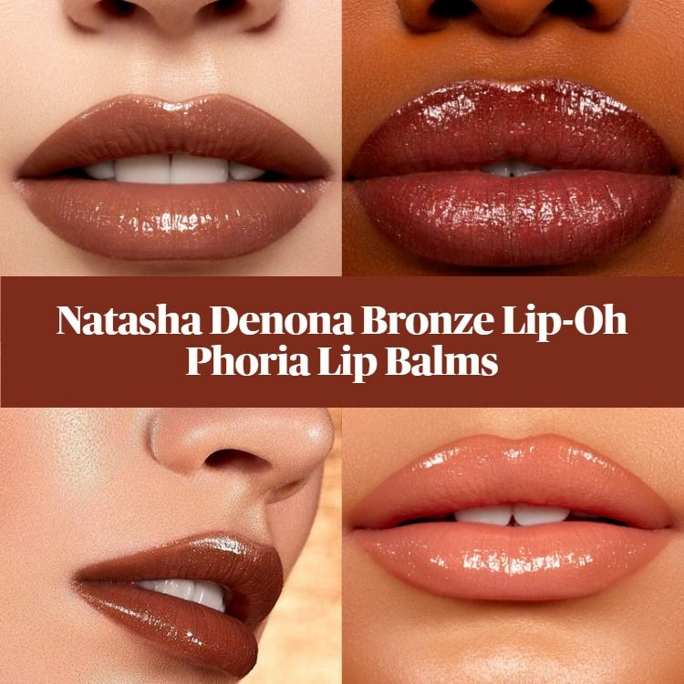 Sneak Peek! Natasha Denona Summer Bronze Lip-Oh Phoria Lip Balms