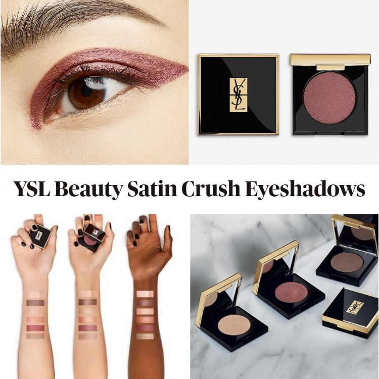 Get To Know The New YSL Beauty Satin Crush Eyeshadows