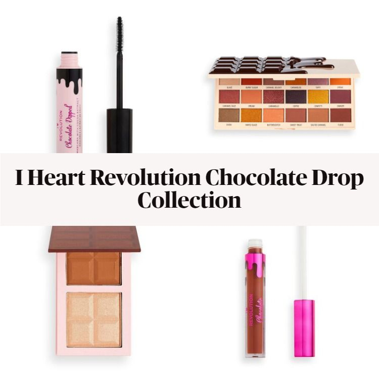 New! I Heart Revolution Chocolate Drop Collection