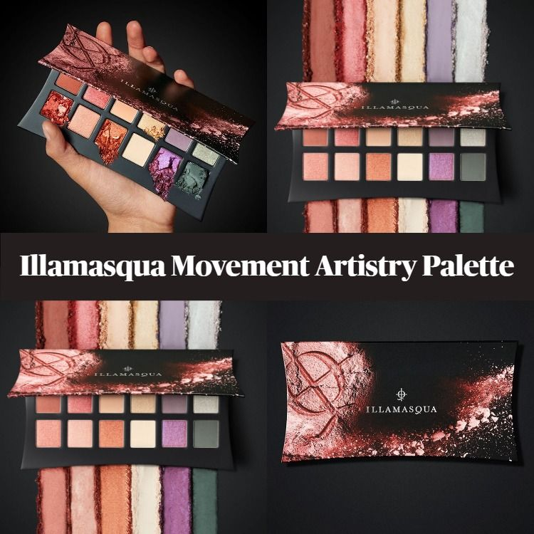 New! Illamasqua Movement Artistry Eyeshadow Palette