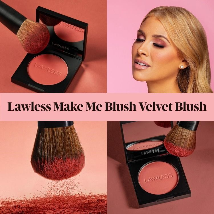 New! Lawless Make Me Blush Velvet Blush