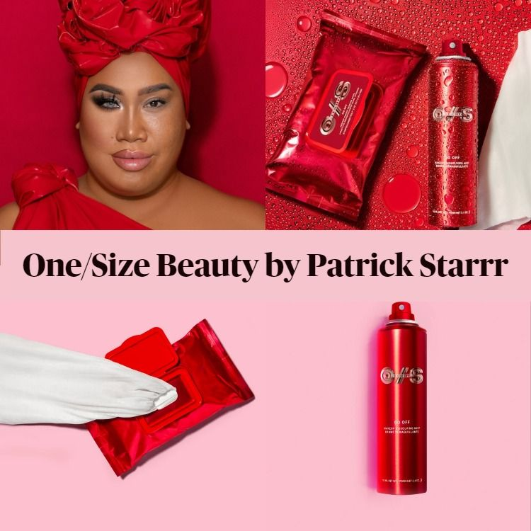 Sneak Peek! Patrick Starrr One Size Beauty Featuring GO OFF Mist and Wipes