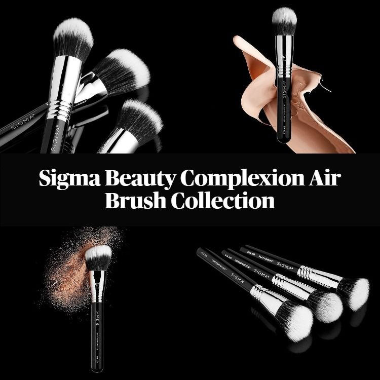 New! Sigma Beauty Complexion Air Brush Collection