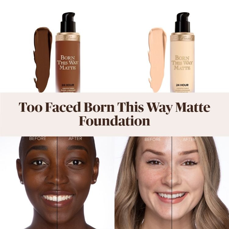Sneak Peek! Too Faced Born This Way Matte 24 Hour Foundation