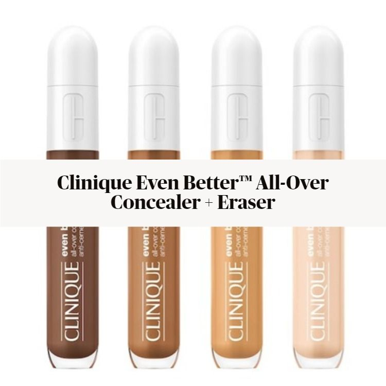 Sneak Peek! Clinique Even Better™ All-Over Concealer + Eraser