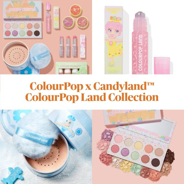 Sneak Peek! ColourPop x Candyland™ ColourPop Land Collection