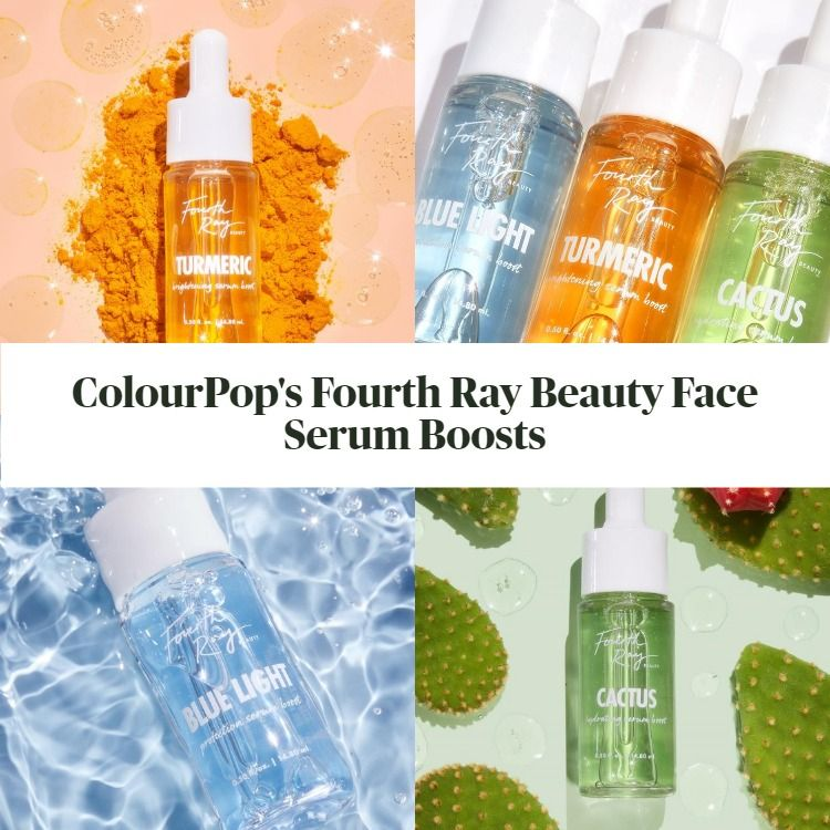 New! ColourPop's Fourth Ray Beauty Face Serum Boosts