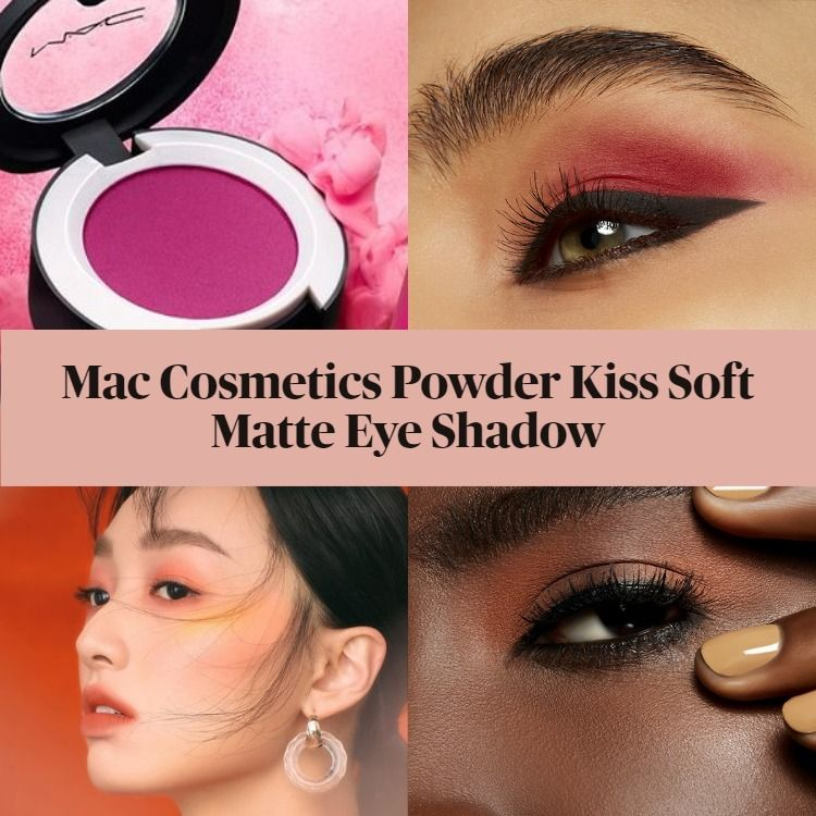 New! Mac Cosmetics Powder Kiss Soft Matte Eye Shadow