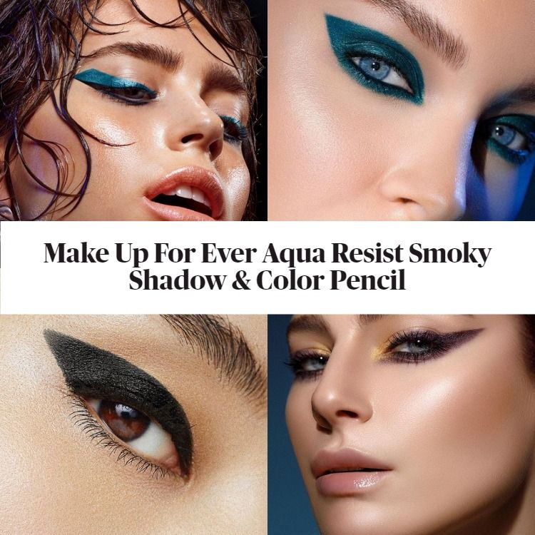 Make Up Forever Aqua Resist Smoky Shadow & Color Pencil