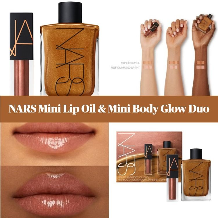 NARS Mini Lip Oil & Mini Body Glow Duo
