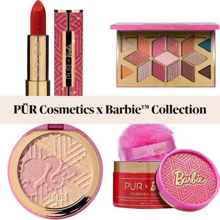 Get The Scoop On The New PÜR Cosmetics x Barbie™ Collection