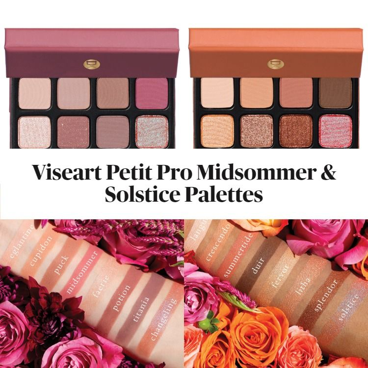 New! Viseart Petit Pro Midsommer And Solstice Palettes