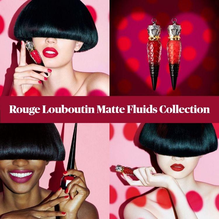 Christian Louboutin Rouge Louboutin Matte Fluids Collection