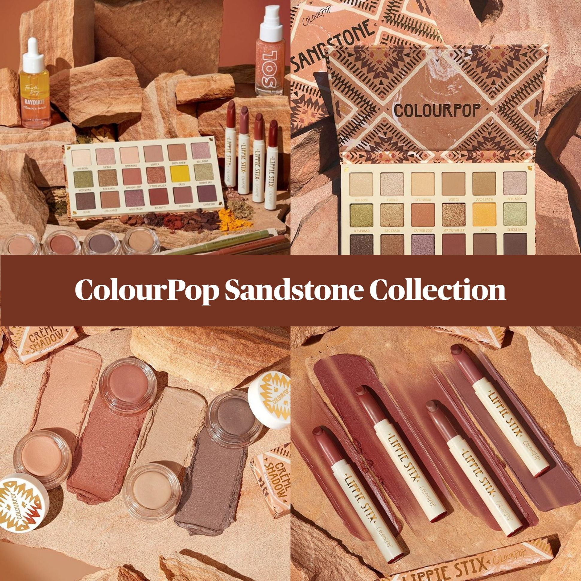 ColourPop Sandstone Fall Collection