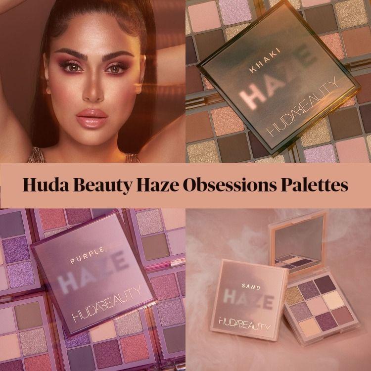 Sneak Peek! Huda Beauty Haze Obsessions Palettes Holiday 2020