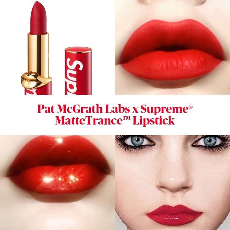 Sneak Peek! Pat McGrath Labs x Supreme® MatteTrance Lipstick