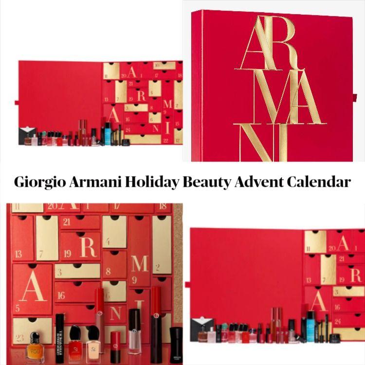 Giorgio Armani Holiday 2020 Beauty Advent Calendar