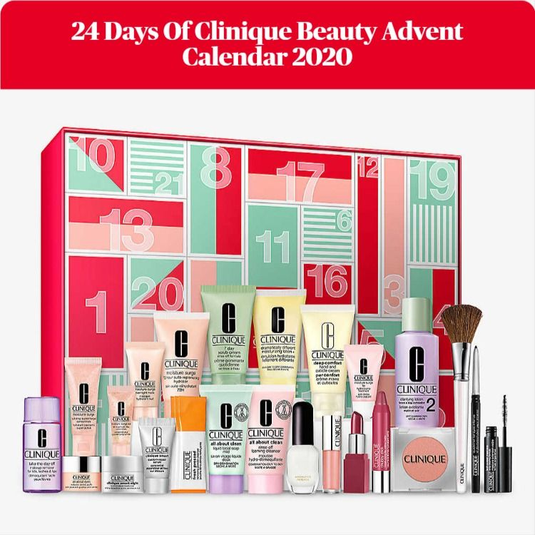 24 Days Of Clinique Beauty Advent Calendar 2020