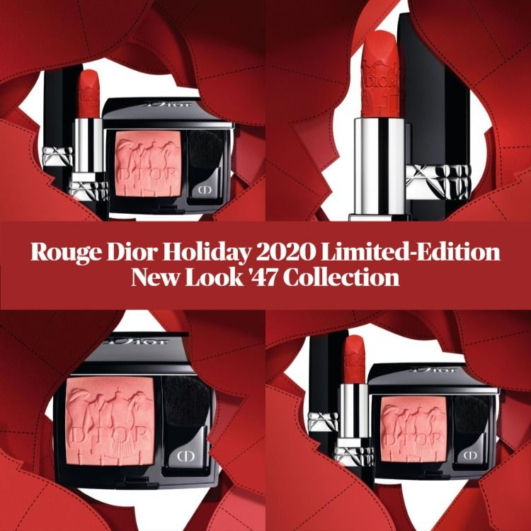Rouge Dior Holiday 2020 Limited-Edition New Look '47 Collection